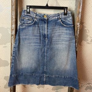 Chloè denim skirt 38/8 mid GUC